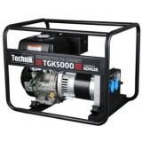 Generator de curent pe benzina portabil, monofazat, cu motor Kohler, 4.1 kVA, TECHNIK TGK5000
